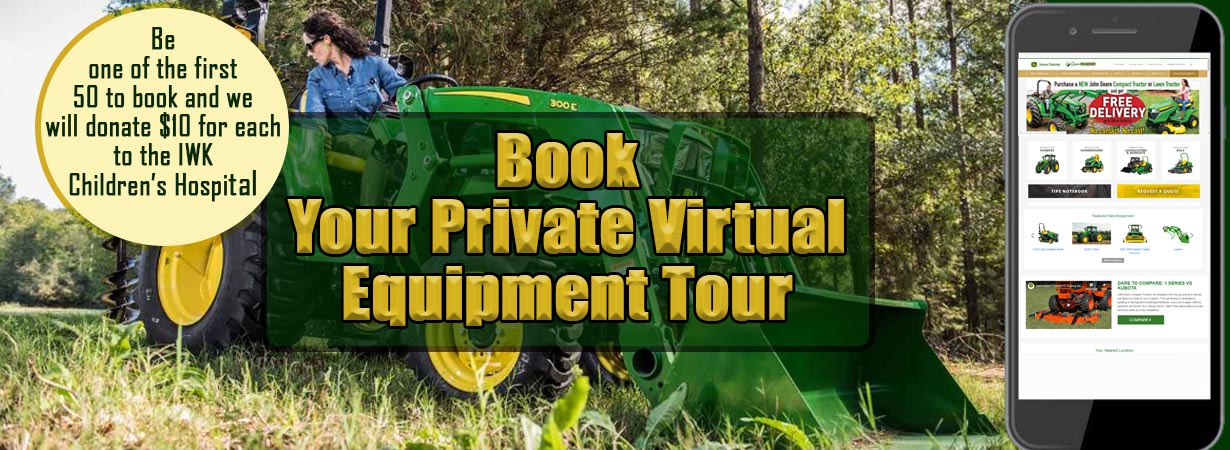 Book your Virtual Equipment Tour